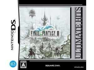 Final Fantasy III (Ultimate Hits) [Japan Import]