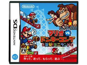 Mario vs. Donkey Kong: Mini-Land Mayhem [DSi Enhanced] [Japan Import]