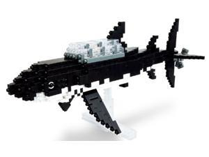 Nanoblock - Tintin - Shark Submarine - 900pcs Set
