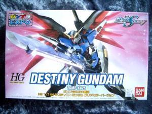 Hg 1/144 Destiny Sundam Clear Color Ver.gundam Expo Limited