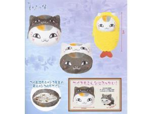 Natsume's Book of Friends Nyanko sensei pouch stuffed all three set (japan import)