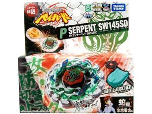 Beyblades JAPANESE Metal Fusion Battle Top Starter #BB69 Poison Serpent SW145SD Includes Light Launcher!
