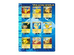 Pokemon JAPANESE 2010 Pikachu World 9 Card Set