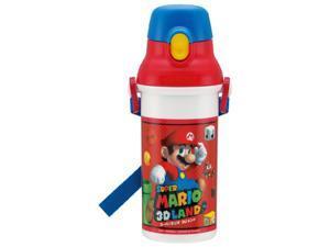 Super Mario 3d Land One-touch Plastic Bottle