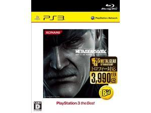 Metal Gear Solid 4: Guns of the Patriots (PlayStation3 the Best) [Japan Import]