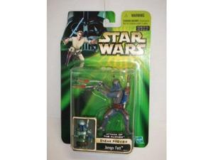 Star Wars Basic Figure ATTACK OF THE CLONES sneak preview Jango Fett (japan import)