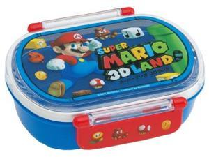 Super Mario 3D Land dishwasher tight lunch box oval QA2BA (japan import)