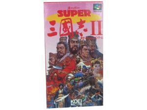 Super Sangokushi II (Romance of the Three Kingdoms 2), Super Famicom (Japanese Import)