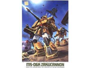 MS-06K Zakucannon (1/144 scale Model Kits) Bandai Gundam (MSV)