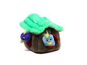 Plush Puppies Hide-A-Bird Puzzle Plush Interactive Dog Toy, Large