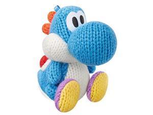amiibo Light Blue Yarn Yoshi (Yoshi's Woolly World Series)