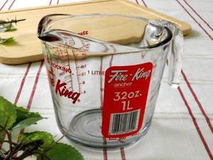 Anchor Hocking Measuring Cup, 4 Cup Capacity