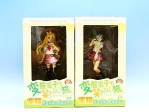 [Hentai Ouji to Warawanai Neko] HenNeko Girls Figure Set