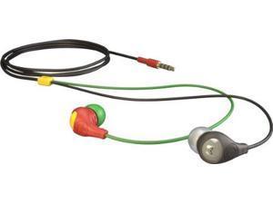 Aerial7 Bullet Earbud Headphones Dark Rasta, One Size