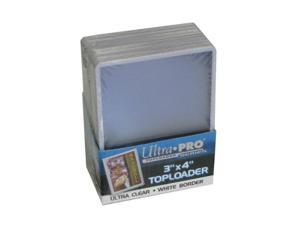 Ultra Pro 3 x 4 Topload White Card Holder (25)