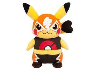 Cosplay Pikachu Libre Omega Ruby & Alpha Sapphire Plush Stuffed Doll Pokemon Center Mega Tokyo Exclusive [Japan Import]