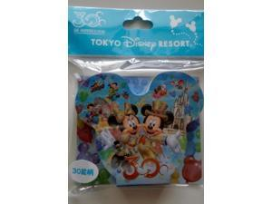 """[Tokyo Disney Resort 30th Anniversary] """"The Happiness Year"""" 30 note pattern (japan import)"""