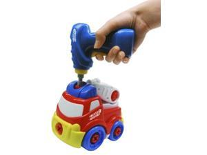 Car fire engine to work assembling puzzle (japan import)
