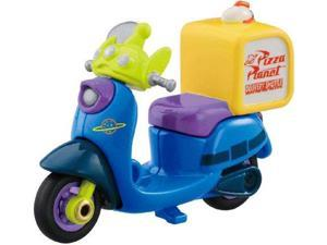 Tomica Disney Motors DM-02 Pizza Planet Bike Alien
