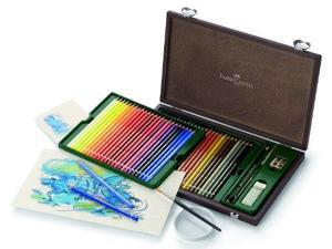 Faber-Castell Albrecht Durer Watercolor Pencils Wood Case - Set of 48