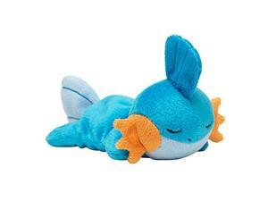 Pokemon Center Original Kuttari Stuffed Mizugorou Good Night Ver.