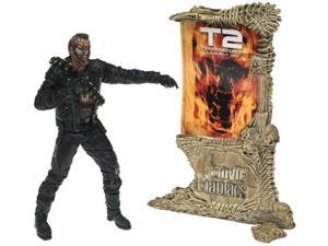 McFarlane Toys Movie Maniacs Series 4 Action Figure T2 Terminator 2 Judgement Day T800