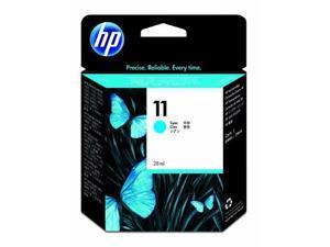 HP C4836A 11 Cyan Ink Cartridge, 2350 Page Yield