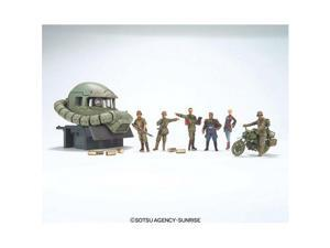 Bandai Hobby UCHG Earth Federation (EFGF) Ramba Ral Commando Set