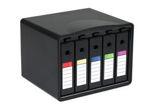 "SISUN PHB35-5 5-Bay 3.5 Hard Drive Carrying Case Hard Disk Drive Protection Box (5 Bay 3.5"" HDD Carrying Case)"