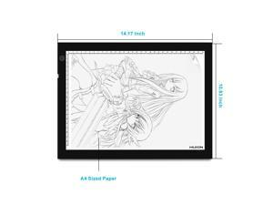 Huion A4 17.7 inch Brightest LED Light Tracing Pad Light Box Drawing Board