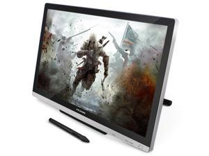 Huion GT-220 V2 Tablet Monitor 21.5 Inch Interactive Pen Monitor Pen Display, IPS Panel, HD Resolution(1920x1080) with Screen Protector and Glove(Silver)