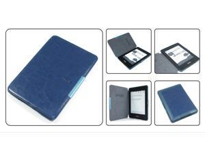 Slim Magnetic Flip Leather Case Cover Wake/Sleep For Amazon Kindle Paperwhite Deep Blue