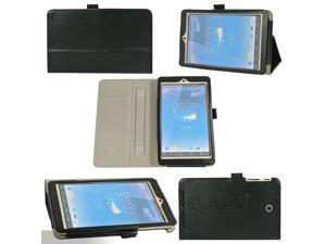 "High Quality Hand Strap Leather Case Cover For 8"" Asus MeMo Pad 8 ME180A Black"
