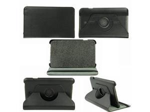 "360° Rotating Leather Case Cover for 8"" Asus MeMO Pad 8 ME180A (Black)"