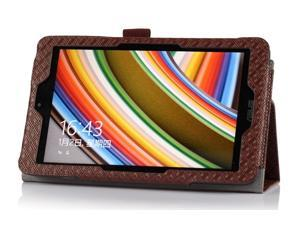 """Luxury Colors PU Leather Stand Case Cover For ASUS VivoTab Note 8 M80TA 8"""" tablet PC Brown"""