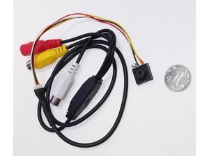HD 5.0MP Mini Wired Color Spy camera with Audio Hidden cameraCCTV Surveillance Camera Security Micro Camera 600TVL PAL