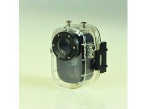 Mini Waterproof Sport Action Camera Helmet Camcorder SJ1000Full HD 1080P 12MP Diving Motorcycle Bike Hunting DVR 140° Wide Angle Lens 32GB HDMI Car camera (Black)