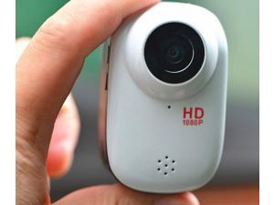 Mini Waterproof Sport Action Camera Helmet Camcorder SJ1000 Full HD 1080P 12MP Diving Motorcycle Bike Hunting DVR 140° Wide Angle Lens 32GB HDMI Car camera (White)