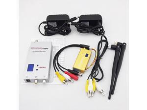 16-CH 1.2GHz 700mW Wireless Audio Video Transmitter Receiver Set (DC 12V)