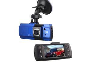 "Full HD 2.7"" LCD Car Dashboard Rearview Mirror Camera DVR Monitor Video Recorder"