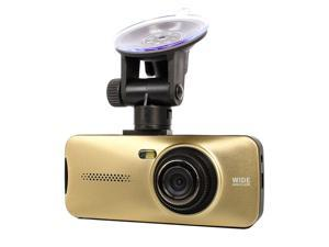 "HD 1080P 2.7"" LCD TFT 148° Vehicle Car DVR Camera Video Recorder G-sensor WDR (Gold)"