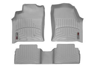 2012-2013 Honda CR-V Grey Weathertech Floor Liner (Full Set-Front and Rear mats)