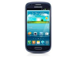 Unlocked Samsung Galaxy S III mini 8GB GT-I8190 2G GSM for AT&T and T-Mobile / BLUE
