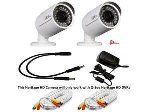 Q-See 2MP 24IRs WeatherProof IP66 HeritageHD 2PK Camera