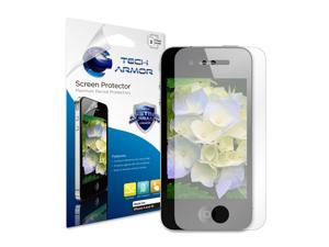 iPhone 4 Screen Protector, Tech Armor Anti-Glare/Anti-Fingerprint Apple iPhone 4 / 4S Screen Protectors [3-Pack]