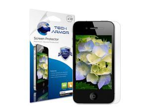 iPhone 4 Screen Protector, Tech Armor High Definition HD-Clear Apple iPhone 4 / 4S Film Screen Protector [3-Pack]