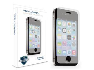 iPhone 4 Glass Screen Protector, Tech Armor Premium Ballistic Glass Apple iPhone 4 / 4S Screen Protector [1]