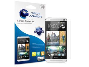 One (M7) Screen Protector, Tech Armor Anti-Glare/Anti-Fingerprint HTC One (M7) Screen Protectors [3-Pack]