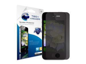 iPhone 4 Privacy Screen Protector, Tech Armor 4Way 360 Degree Privacy Apple iPhone 4 / 4S Screen Protector [1-Pack]