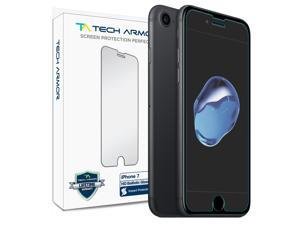 iPhone 7 Glass Screen Protector, Tech Armor Premium Ballistic Glass Apple iPhone 7 (4.7-inch) Screen Protectors [1]